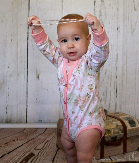 Pattern Testing Peekaboo Patterns Lullaby Line Cardigan Bodysuit Gorgeous Peekaboo Patterns