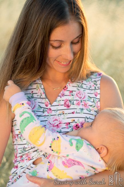 Pattern Review Jalie Criss Cross Nursing Top Sewing With Sarah