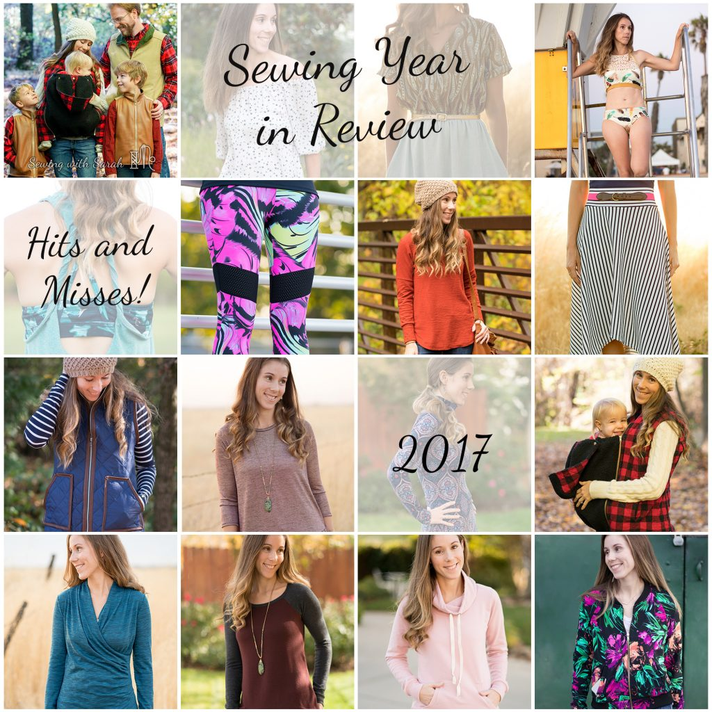 2017 Sewing Year in Review